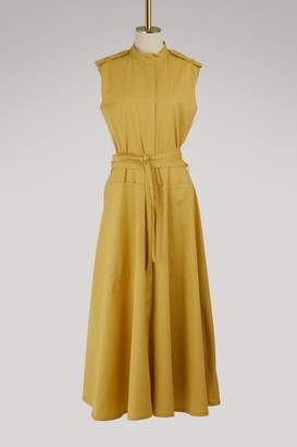Nina Ricci Long cotton dress