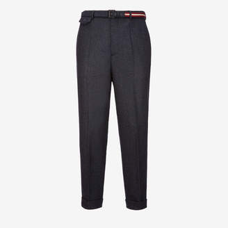 Bally Wool Belted Trousers