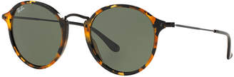 Ray-Ban Sunglasses, RB2447 ROUND $160 thestylecure.com