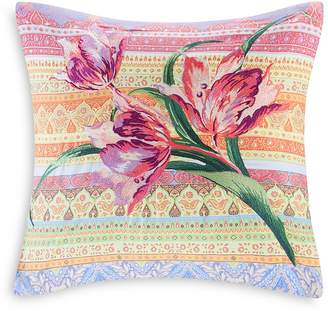 Echo Sofia Embroidered Decorative Pillow, 18 x 18