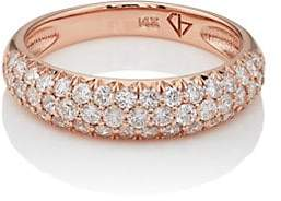 Carbon & Hyde Women's Dome Ring - Rose Gold
