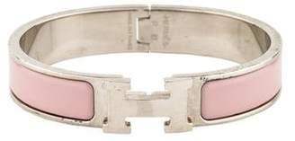 Hermes Narrow Clic H Bracelet
