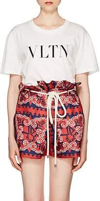 Valentino Women's Logo Cotton T-Shirt - White