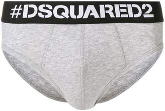 DSQUARED2 logo band briefs