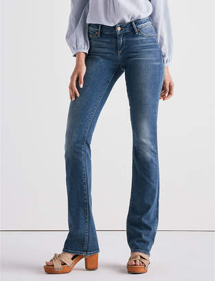 Lucky Brand LOLITA MID RISE BOOT CUT JEAN IN SUNSET BLUE