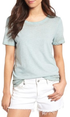 Women's James Perse Sun Faded Cotton Tee $95 thestylecure.com
