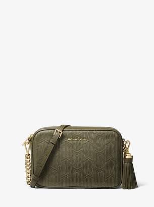 MICHAEL Michael Kors Ginny Medium Deco Quilted Leather Crossbody Bag