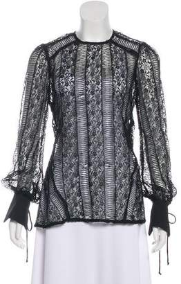 Rebecca Vallance Lace Long Sleeve Blouse