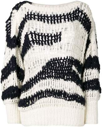 Sonia Rykiel net effect jumper