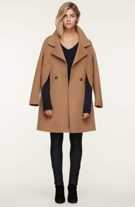 Soia & Kyo Double Face Wool Blend Cape Coat