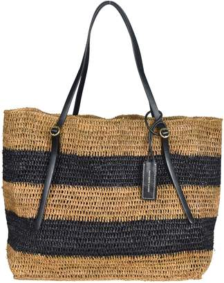 Polo Ralph Lauren Weaved Striped Large Tote