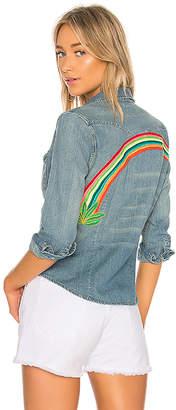 Pam & Gela Embroidered Western Shirt.