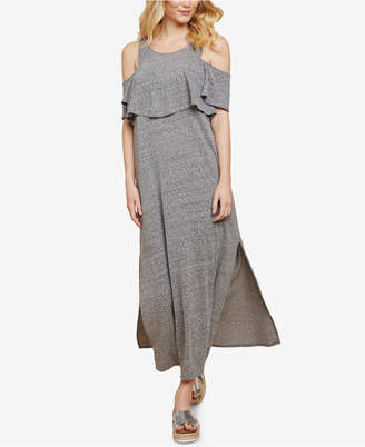 Jessica Simpson Maternity Cold-Shoulder Nursing Dress