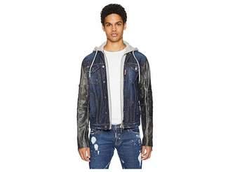 DSQUARED2 2-in-1 Denim Jacket