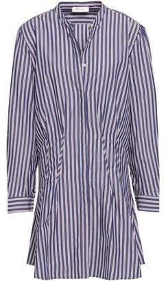 Anine Bing Striped Cotton-poplin Mini Shirt Dress