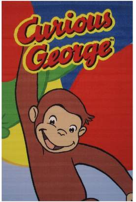Fun Rugs Curious George Happy George Rug - 3'3'' x 4'10''