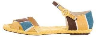 Dolce & Gabbana Canvas Espadrille Sandals