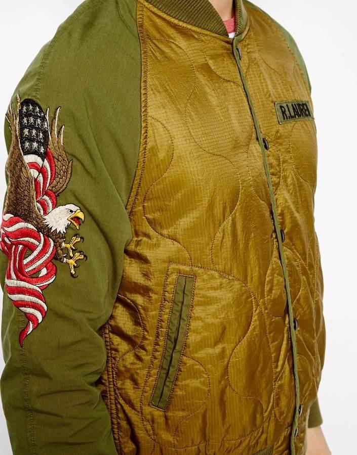 Denim & Supply Ralph Lauren Embellished Bomber Jacket