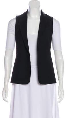 Theory Wool Peak-Lapel Vest