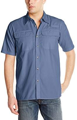 Wrangler Authentics Men's Big-Tall Authentic Short-Sleeve Utility Shirt