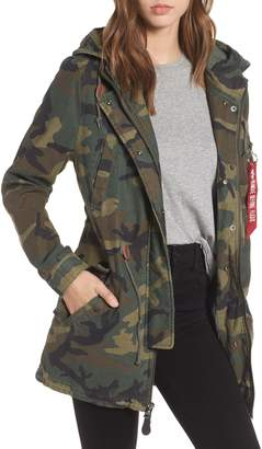 Alpha Industries Meri Fishtail Hem Field Jacket