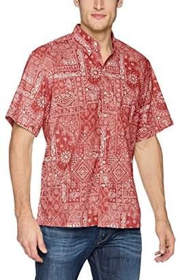 Reyn Spooner Men's Aloha Bandana Kloth Classic Fit Hawaiian Shirt