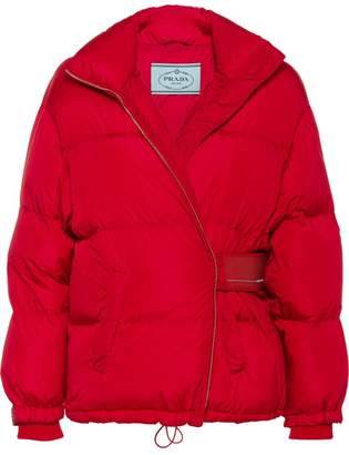 Prada short puffer jacket