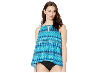 Miraclesuit Cabana Chic DD-Cup Peephole Tankini Top