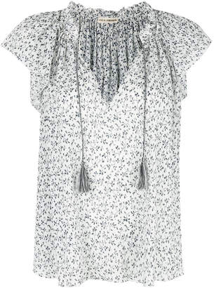 Ulla Johnson floral print peasant blouse