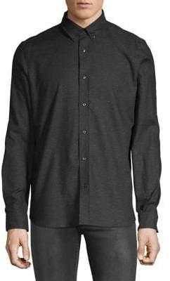 HUGO Button-Down Long Sleeve Shirt