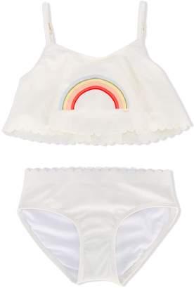 Chloé Kids rainbow bikini
