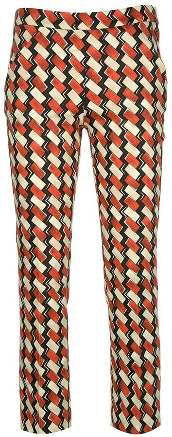 Ter Et Bantine geometric print trouser
