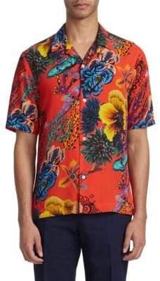 Paul Smith Hawaiian Print Shirt