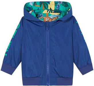 Kenzo Reversible Printed Wind Jacket, Size 12M-4