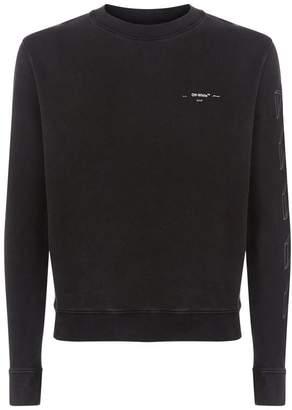 Off-White Graphic Logo Sweatshirt