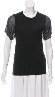 Reed Krakoff Cashmere and Merino Wool Top