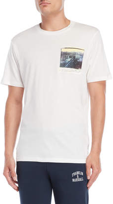 Franklin & Marshall Milk Skyline Photo Tee