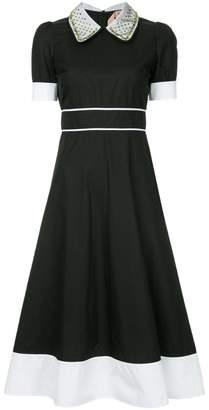 No.21 fitted shirt dress