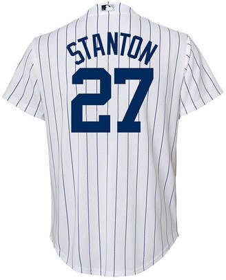 Majestic Giancarlo Stanton New York Yankees Player Replica Cool Base Jersey, Little Boys (4-7)