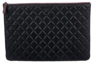 Chanel Large Caviar O-Case