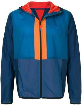 Paul Smith colour-block hooded jacket