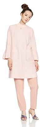 Jill Stuart (ジル スチュアート) - [ジル バイ ジルスチュアート] ノーカラーツイード 125-8151003 レディース ピンク 日本 M (日本サイズM相当)