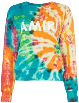Amiri Logo print sweater