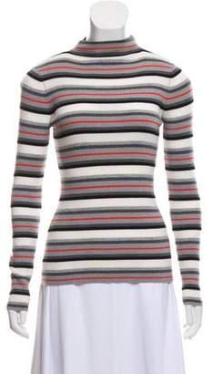 Alexander Wang Lightweight Merino Wool Striped Sweater