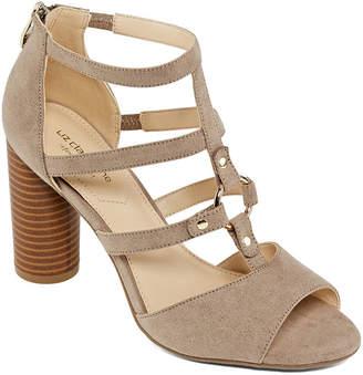 Liz Claiborne Womens Bahati Heeled Sandals