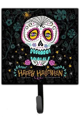 DAY Birger et Mikkelsen Caroline's Treasures Happy Halloween of the Dead Leash or Key Holder