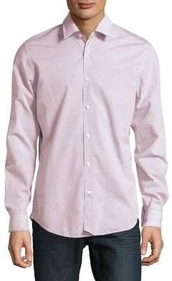 HUGO BOSS Lukas Spaceline Button-Down Shirt
