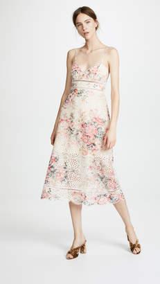 Zimmermann Laelia Diamond Bralette Dress
