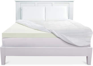 "Sealy 3"" 2+1 Down-Alternative Memory Foam Twin Mattress Topper"