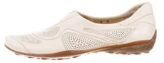 Sesto Meucci Leather Slip-On Sneakers